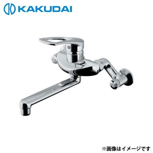 カクダイ シングルレバー混合栓 192-332