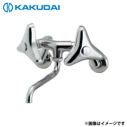 カクダイ 2ハンドル混合栓 (どっか~ん) 128-051