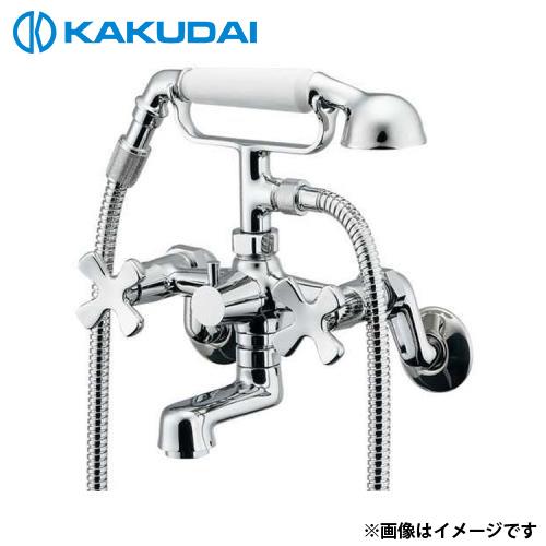 カクダイ 2ハンドルシャワー混合栓 133-505