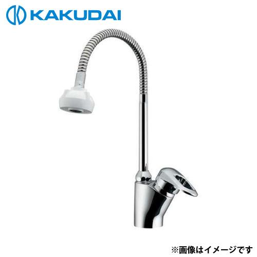 カクダイ シングルレバー混合栓 (シャワーつき) 183-135