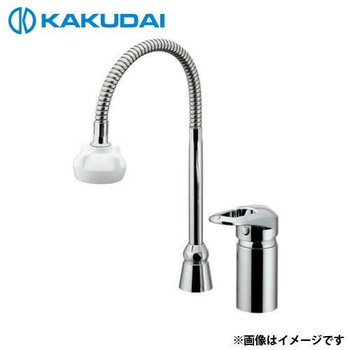 カクダイ シングルレバー混合栓 (シャワーつき) 185-514