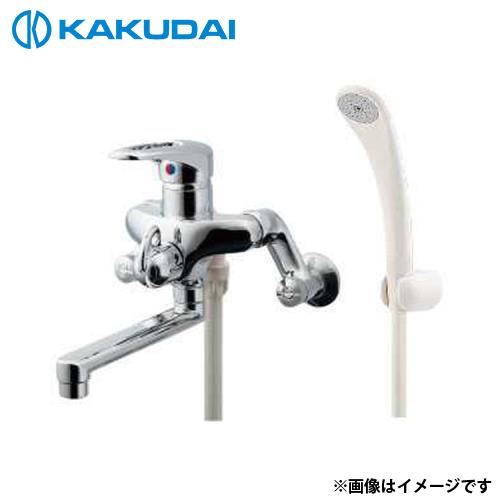 カクダイ シングルレバーシャワー混合栓 143-021