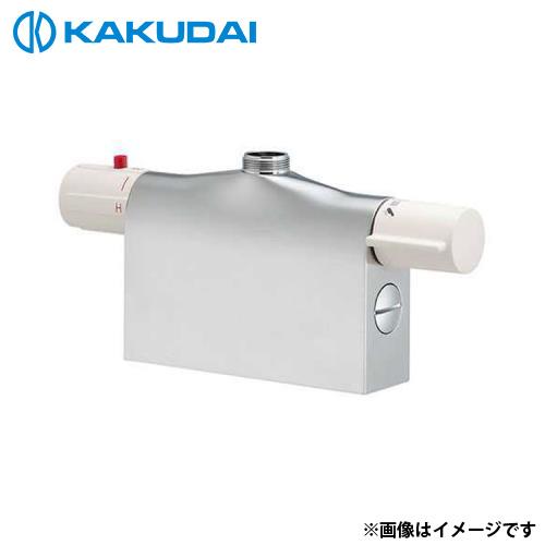 カクダイ サーモスタットシャワー混合栓本体 (デッキタイプ) 175-400