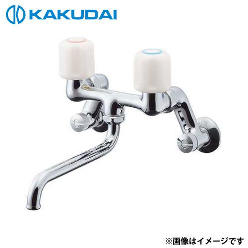 カクダイ 2ハンドル混合栓 128-021