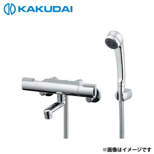 カクダイ サーモスタットシャワー混合栓 173-216K [r11][s2-120]