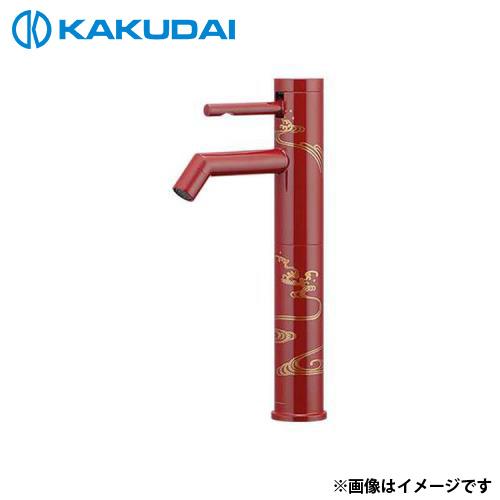 カクダイ シングルレバー立水栓 (ミドル) 716-211-13 [r11][s2-120]