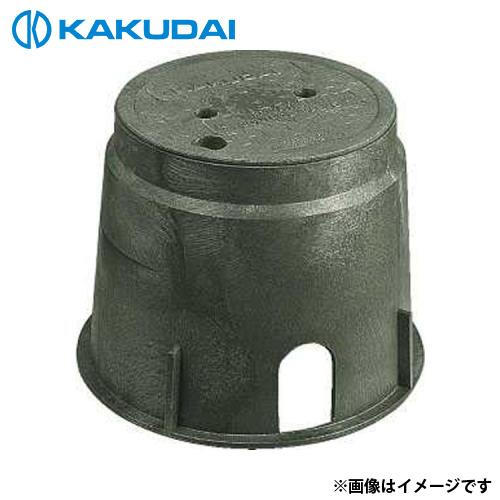 カクダイ 電磁弁ボックス (丸型) 504-011