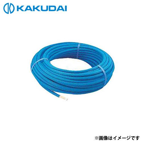 カクダイ 保温材つき架橋ポリエチレン管 (赤) 16A 672-112-50R