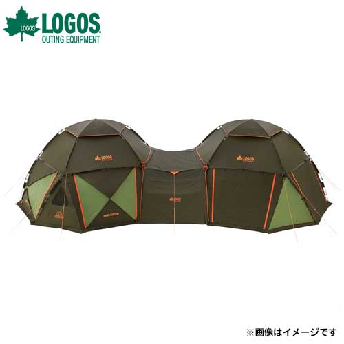 [最大1000円OFFクーポン] ロゴス(LOGOS) デカゴン トンネルタープ 71459304 [テント&タープ タープ]
