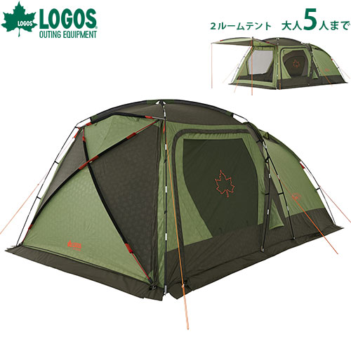 [最大1000円OFFクーポン] ロゴス(LOGOS) neos PANELスクリーンドゥーブル XL-AI 71805010 [テント&タープ テント]