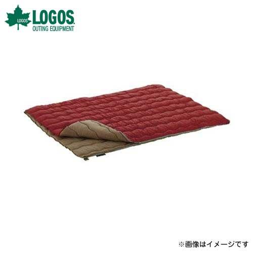 ロゴス(LOGOS) 2in1・Wサイズ丸洗い寝袋 0℃まで 72600690 [スリーピング 封筒型シュラフ]