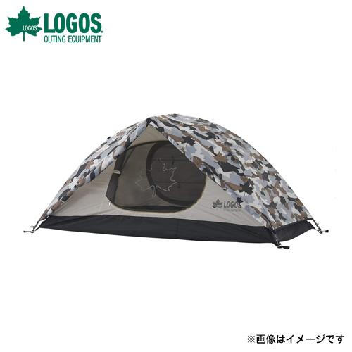 [最大1000円OFFクーポン] ロゴス(LOGOS) SOLOドーム(カモフラ) 71806007 [テント タープ]