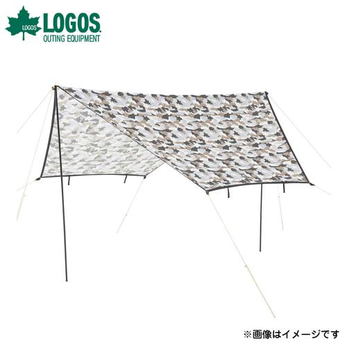 [最大1000円OFFクーポン] ロゴス(LOGOS) ツーリングタープ(カモフラ) 71808026 [テント タープ]