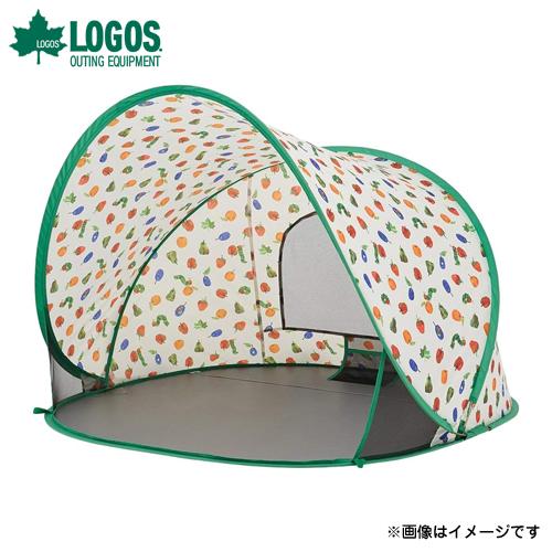 [最大1000円OFFクーポン] ロゴス(LOGOS) はらぺこあおむし ポップアップシェード 86009002 [テント タープ サンシェード ビーチパラソル]