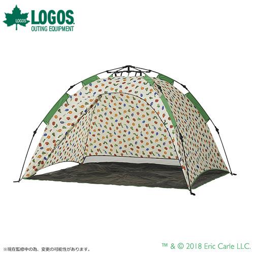 ロゴス(LOGOS) はらぺこあおむし Q-top フルシェード 86009001 [テント&タープ サンシェード パラソル]