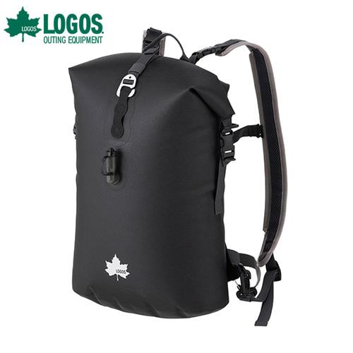 ロゴス(LOGOS) SPLASH LIFE AIR BAG・ラッコフロート12(ブラック・オレンジ) 88200200 [リュック ザック バッグ スプラッシュバッグ]