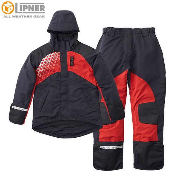 ロゴス(LOGOS) LIPNERプロモデル 防水防寒スーツ ブラック M 30370713