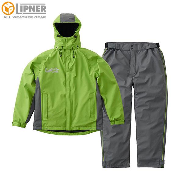 ロゴス(LOGOS) 超耐水防水防寒スーツ パメラ グリーン L 30378362
