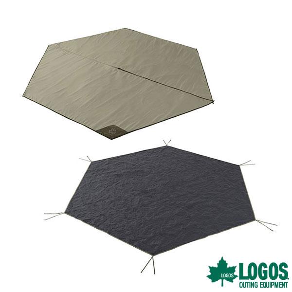 ロゴス(LOGOS) Tepee マット&シート350 71809739 [テント タープ テントシート マット]