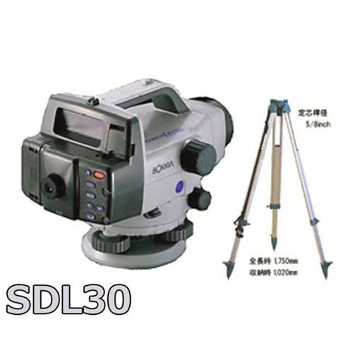 人気定番の ソキア 《三脚付》:ミナト電機工業 デジタルレベル SDL30-DIY・工具