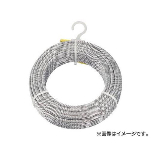 TRUSCO メッキ付ワイヤロープ Φ9mmX100m CWM9S100 [r20][s9-831]