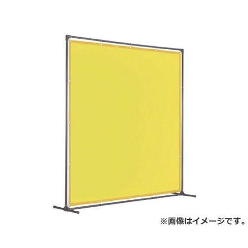 TRUSCO 溶接遮光フェンス 2020型単体固定足 黄 YFAKY