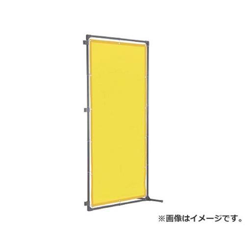 TRUSCO 溶接遮光フェンス 1515型接続 固定足 黄 YF1515SKY [r20][s9-910]