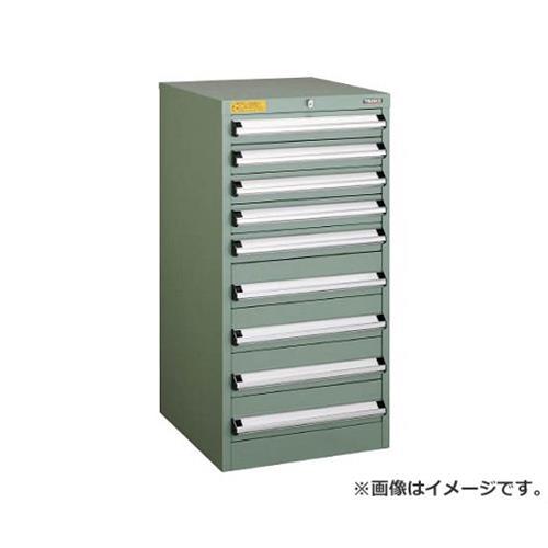TRUSCO VE5S型キャビネット 500X550XH1000 引出6段 VE5S1009 [r22]