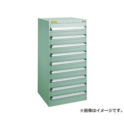TRUSCO VE6S型キャビネット 600X550XH1200 引出8段 VE6S1209 [r22]