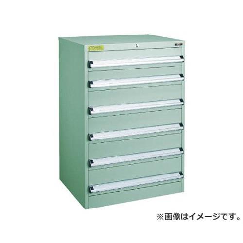 TRUSCO VE7S型キャビネット 700X550XH1000 引出6段 VE7S1009 [r22]