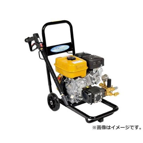 スーパー工業 エンジン式高圧洗浄機SEC-1012-2(コンパクト&カート型) SEC10122