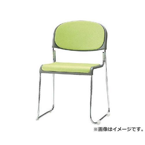 TOKIO ミーティングチェア(スタッキング) ビニールレザー インディゴブルー FNM10LIB [r20][s9-900]