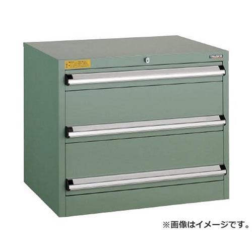 TRUSCO VE7S型キャビネット 700X550XH600 引出3段 VE7S606 [r22][s9-039]
