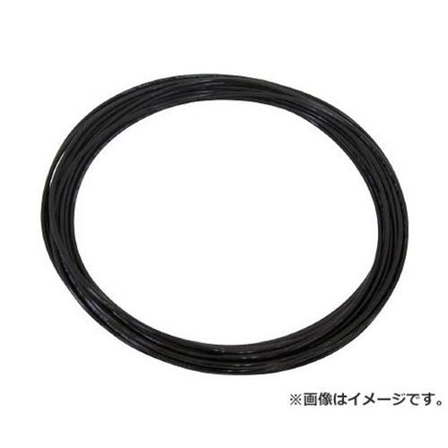 チヨダ TEタッチチューブ 10mm/100m 黒 TE10100BK [r20][s9-910]