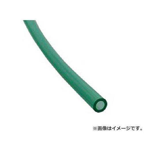 チヨダ TEタッチチューブ 8mm/100m クリアグリーン TE8100CG [r20][s9-830]