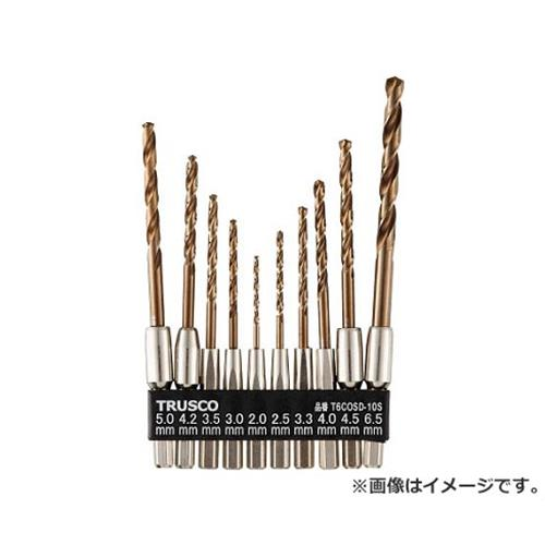 TRUSCO 六角軸コバルトドリル 10本組 T6COSD10S 10本入 [r20][s9-900]
