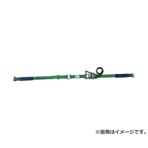 allsafe ベルト荷締機 ワンピースキャッチャー付ラッシングベルト R5PCH12 [r20][s9-910]