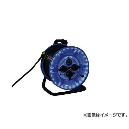 日動 日動 防雨型電工ドラム LEDラインドラム 緑 NPWLEB33G [r20][s9-910]