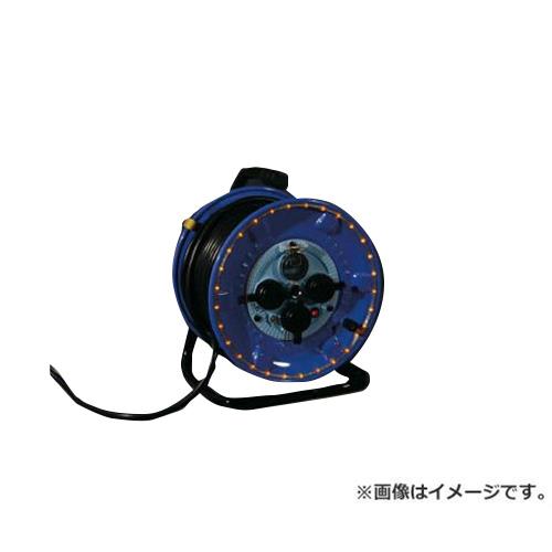 日動 防雨型電工ドラム LEDラインドラム 赤 NPWLEB33R [r20][s9-910]