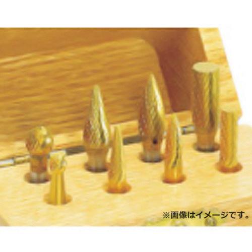 ナカニシ チタン超硬カッターセット 8本入 28115
