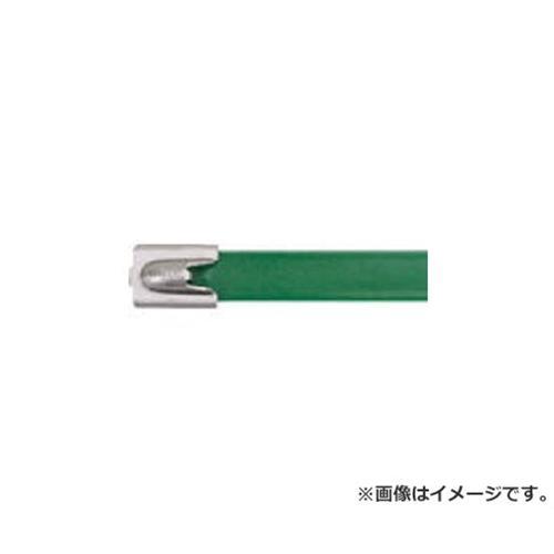 パンドウイット フルコーティングステンレススチールバンド 緑 MLTFC4HLP316GR 50本入 [r20][s9-910]