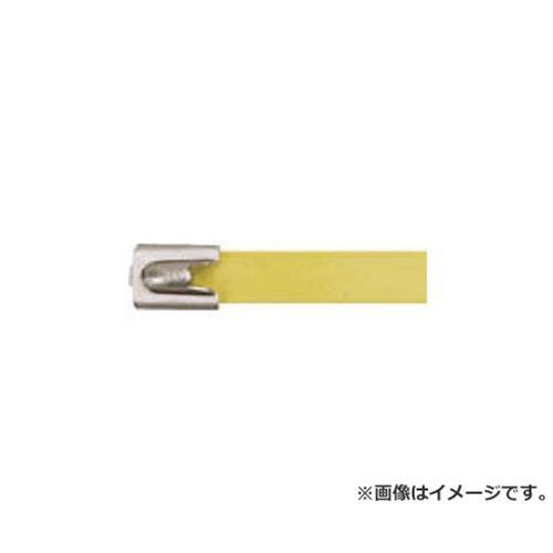 パンドウイット フルコーティングステンレススチールバンド 黄 MLTFC6HLP316YL 50本入 [r20][s9-910]