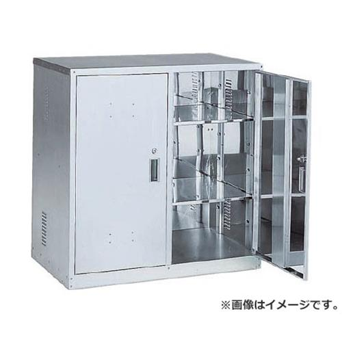 TRUSCO 耐震薬品庫 両開型 900X500XH900 TK1HN [r20][s9-940]