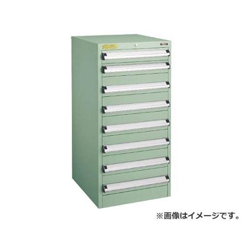 TRUSCO VE5S型キャビネット 500X550XH1000 引出8段 VE5S1003 [r22]
