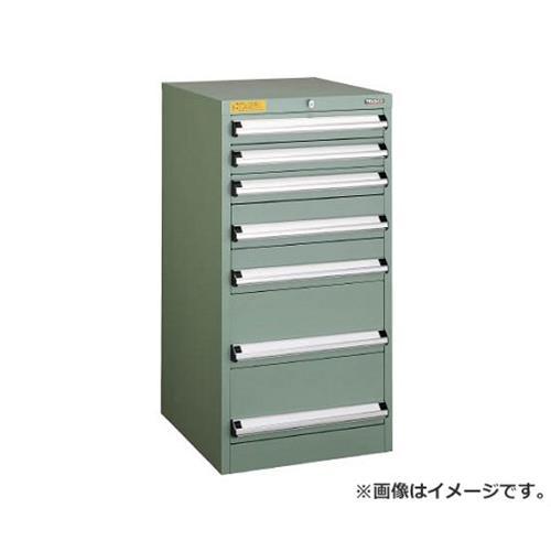TRUSCO VE5S型キャビネット 500X550XH1000 引出7段 VE5S1004 [r22]