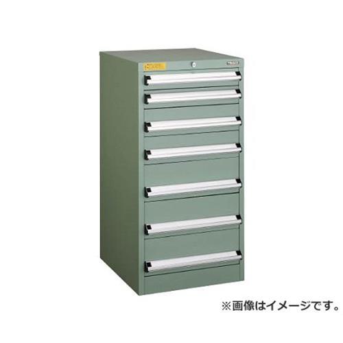 TRUSCO VE5S型キャビネット 500X550XH1000 引出9段 VE5S1005 [r22]