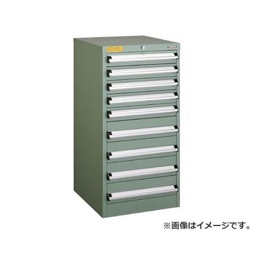 TRUSCO VE5S型キャビネット 500X550XH1000 引出9段 VE5S1006 [r22]