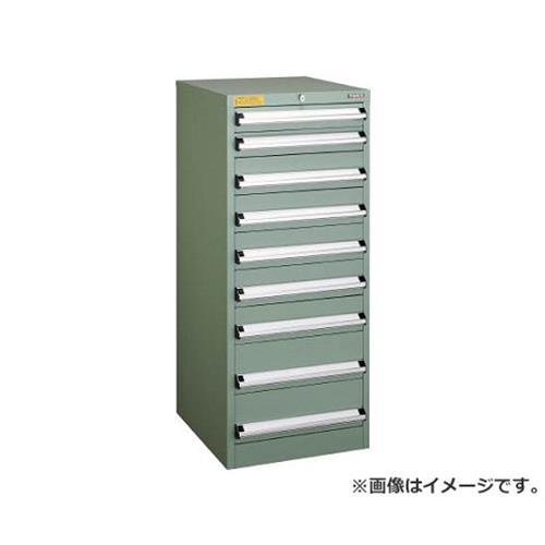 TRUSCO VE5S型キャビネット 500X550XH1200 引出9段 VE5S1202 [r22]