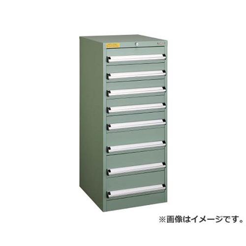 TRUSCO VE5S型キャビネット 500X550XH1200 引出8段 VE5S1205 [r22]