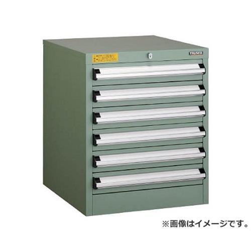 TRUSCO VE5S型キャビネット 500X550XH600 引出6段 VE5S604 [r22][s9-039]